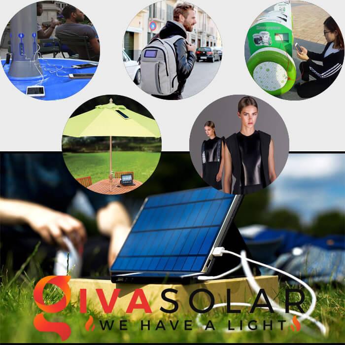 Ứng dụng của pin mặt trời cho nguồn điện thiết bị di động