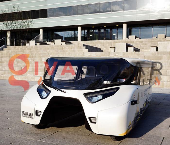Xe ô tô năng lượng mặt trời Stella