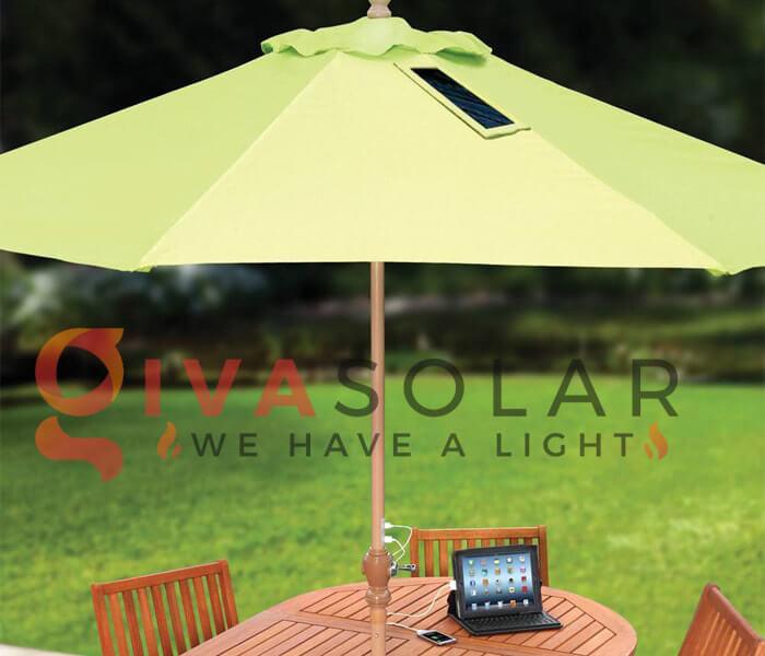 Dù năng lượng mặt trời