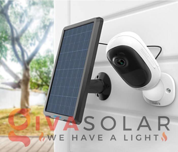 Các thiết bị an ninh năng lượng mặt trời