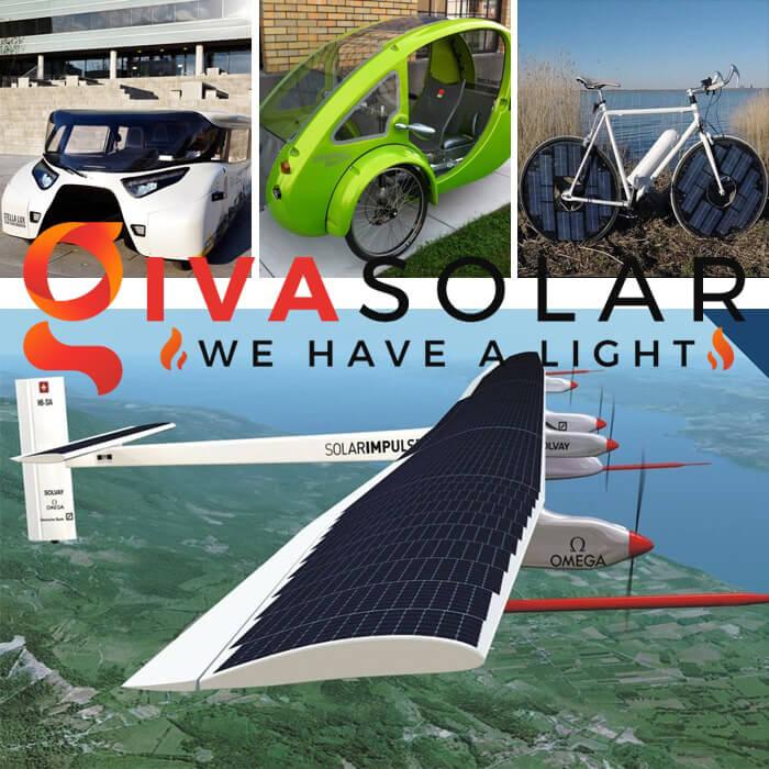 Ứng dụng pin mặt trời cho phương tiện giao thông