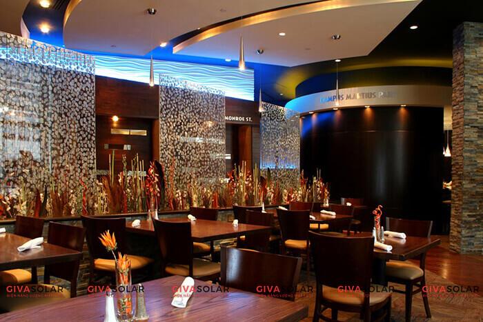 Bí quyết chọn đèn trang trí cho nhà hàng, quán ăn 1