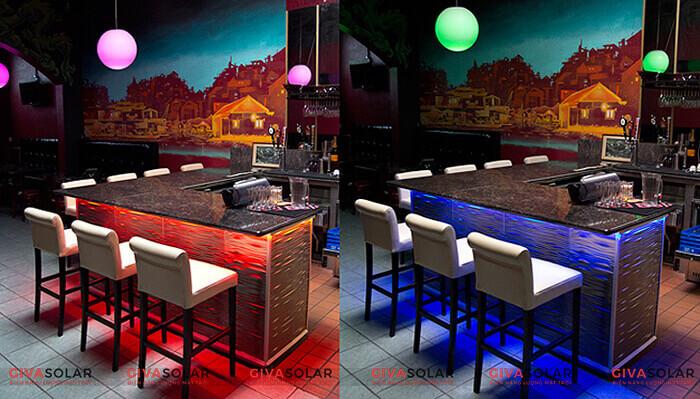 Bí quyết chọn đèn trang trí cho nhà hàng, quán ăn 2