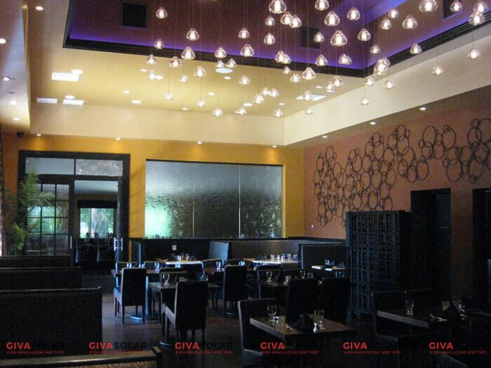 Bí quyết chọn đèn trang trí cho nhà hàng, quán ăn 3