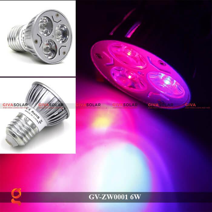 Bóng đèn Led quang hợp GV-ZW0001 6W 2