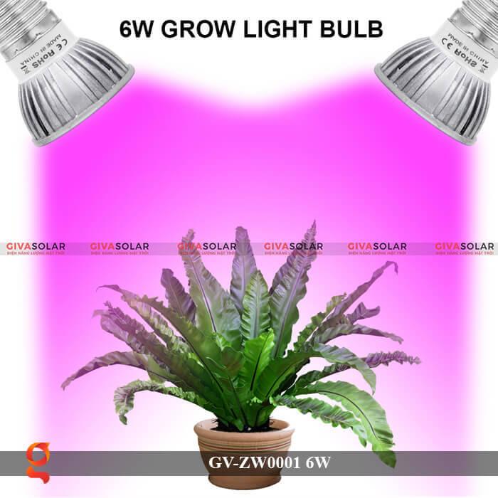 Bóng đèn Led quang hợp GV-ZW0001 6W 3