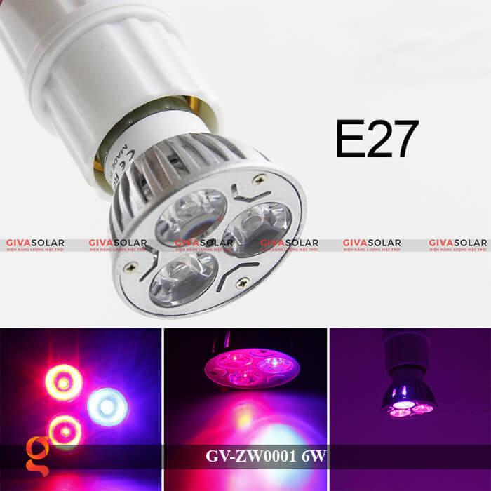 Bóng đèn Led quang hợp GV-ZW0001 6W 6