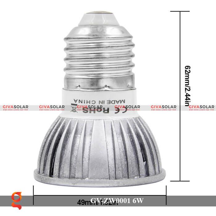 Bóng đèn Led quang hợp GV-ZW0001 6W 7