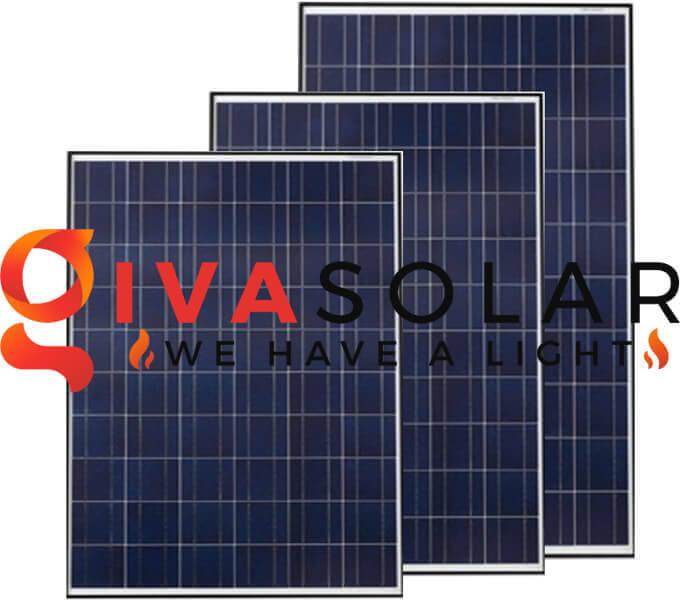 Chọn tấm pin mặt trời dựa theo kích cỡ khác nhau