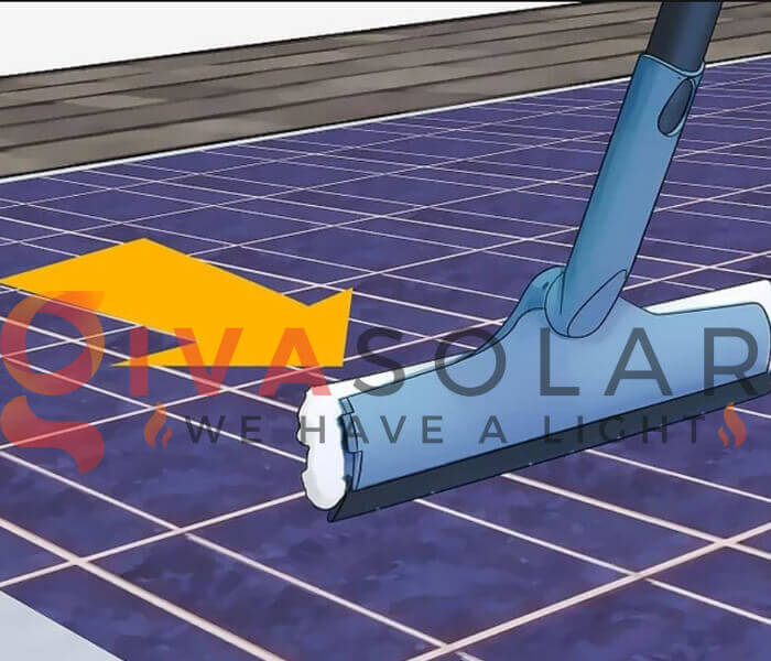 Cách làm sạch pin năng lượng mặt trời 4