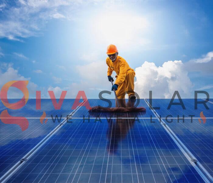 Thời điểm thích hợp để làm sạch tấm pin năng lượng mặt trời