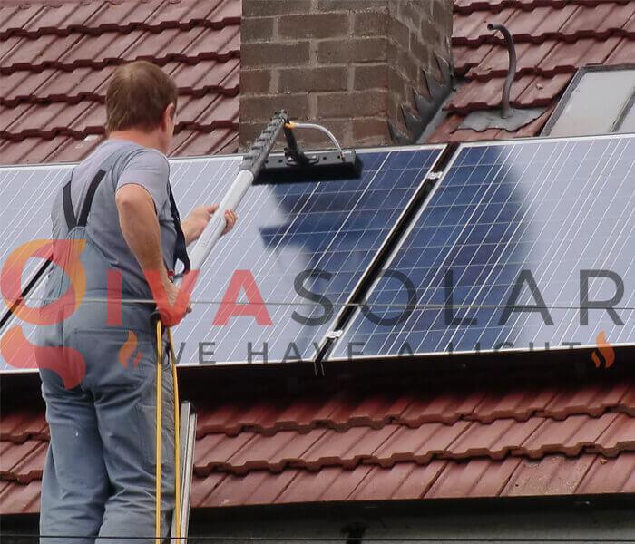 Những lưu ý khi làm sạch tấm pin mặt trời