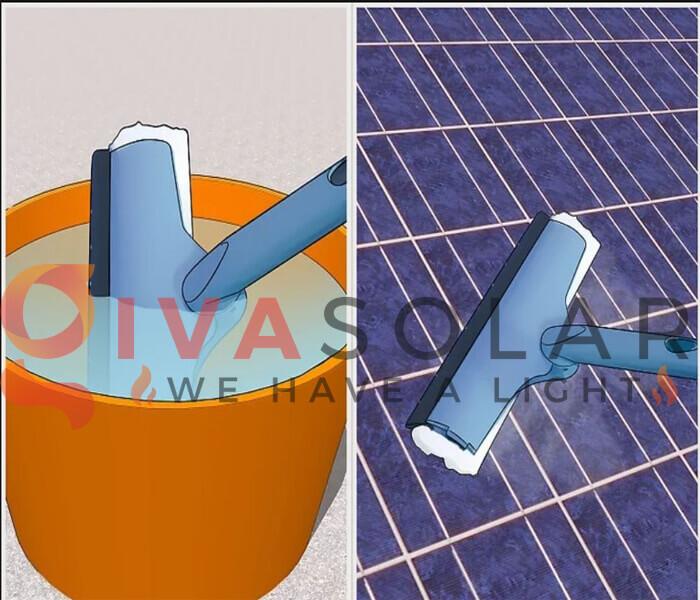 Cách làm sạch pin năng lượng mặt trời 3