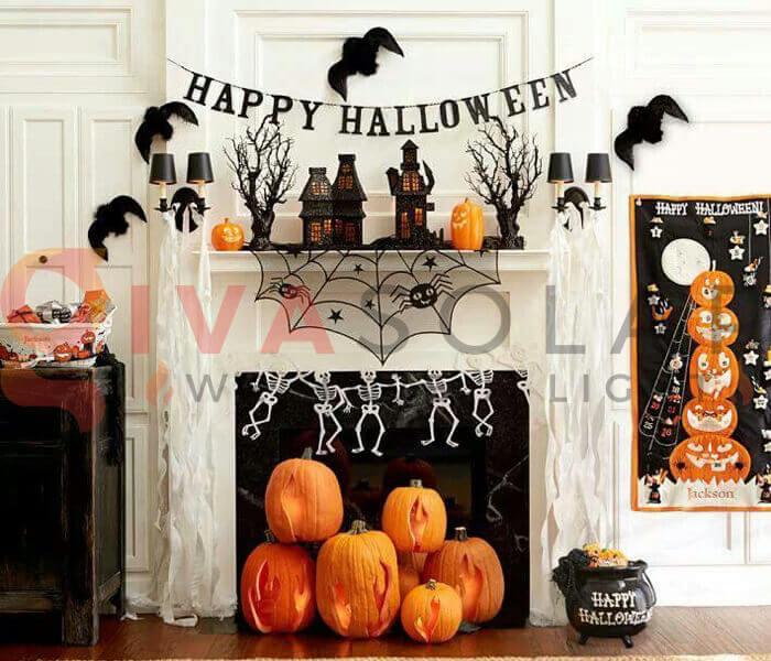 Cách trang trí Halloween cho ngôi nhà của bạn