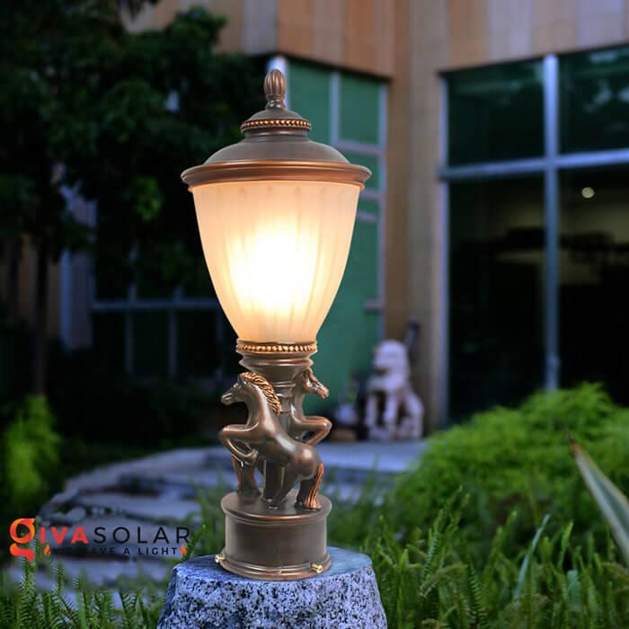 Đèn trụ cổng năng lượng mặt trời 3
