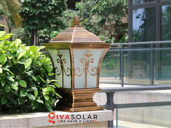 Đèn trụ cổng năng lượng mặt trời 7