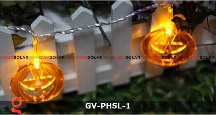 Dây đèn led bí ngô trang trí Halloween GV-PHSL-1 10