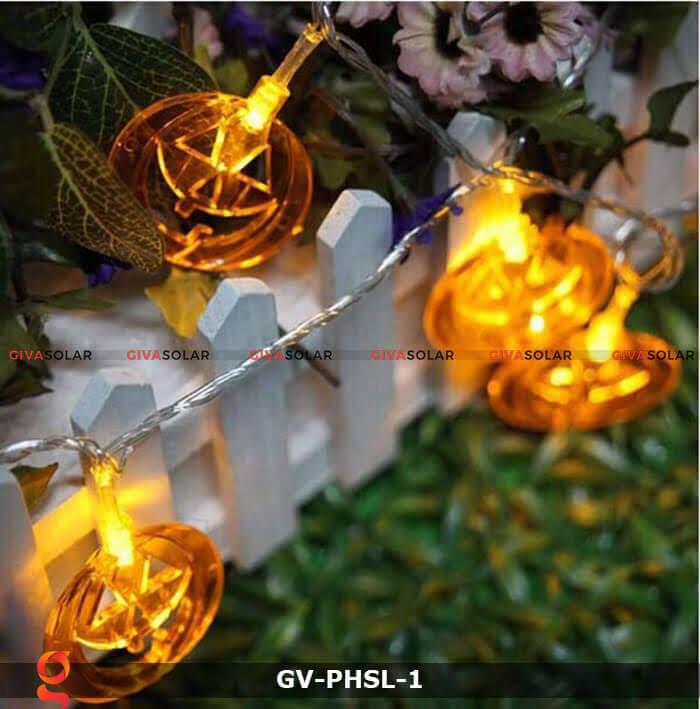 Dây đèn led bí ngô trang trí Halloween GV-PHSL-1 13