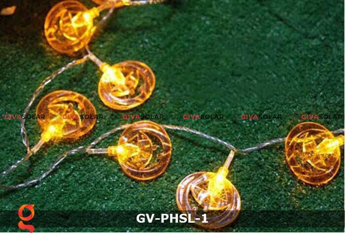 Dây đèn led bí ngô trang trí Halloween GV-PHSL-1 2