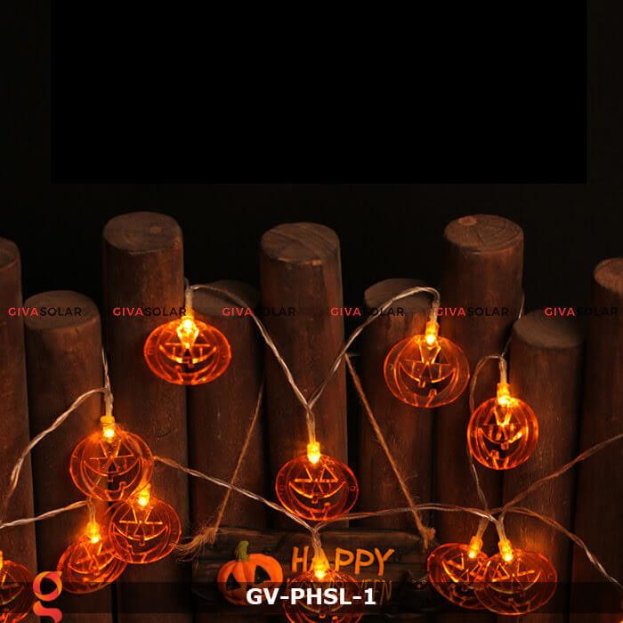 Dây đèn led bí ngô trang trí Halloween GV-PHSL-1 3
