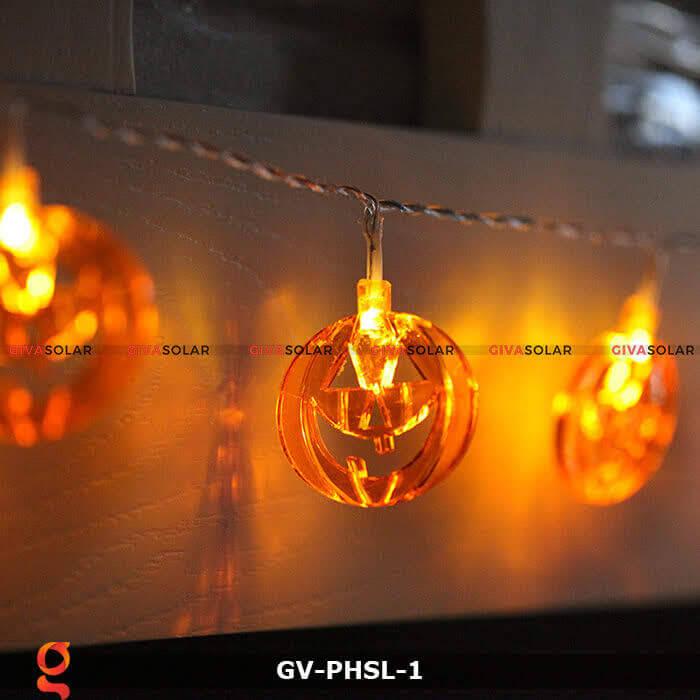 Dây đèn led bí ngô trang trí Halloween GV-PHSL-1 4