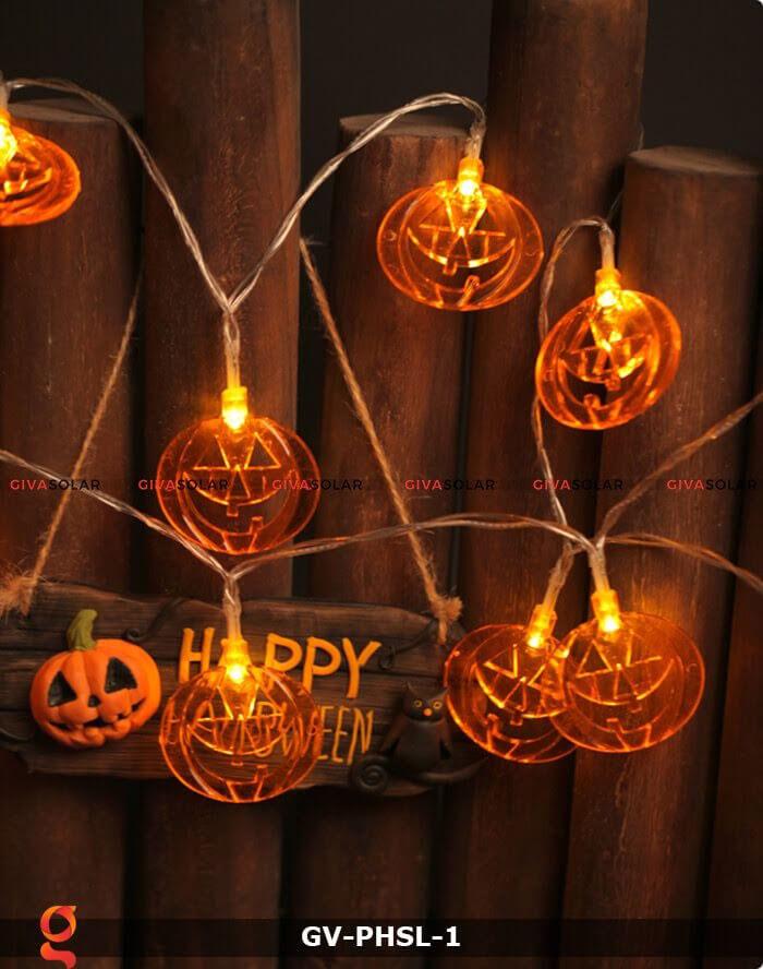 Dây đèn led bí ngô trang trí Halloween GV-PHSL-1 5