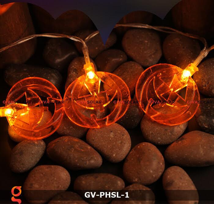 Dây đèn led bí ngô trang trí Halloween GV-PHSL-1 7