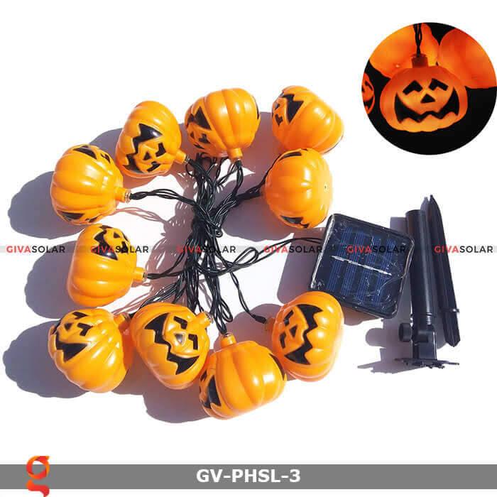 Dây đèn led bí ngô trang trí Halloween GV-PHSL-3 1