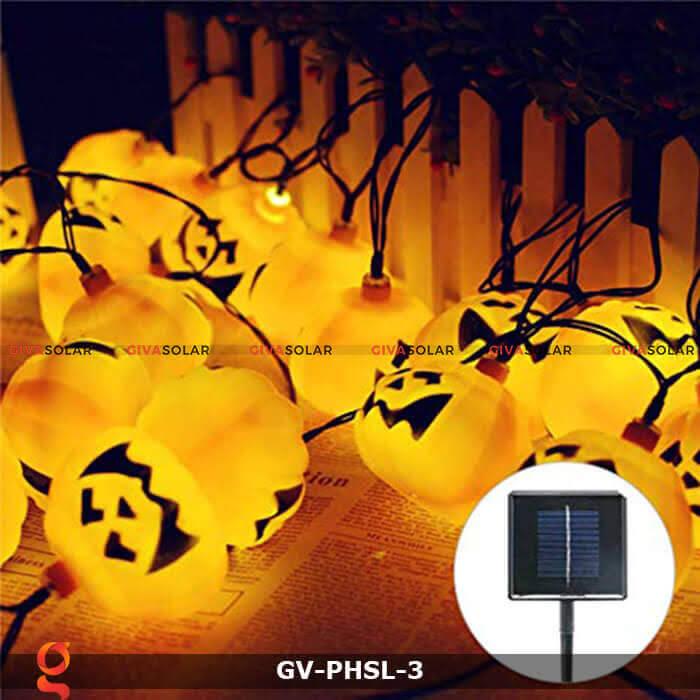 Dây đèn led bí ngô trang trí Halloween GV-PHSL-3 6