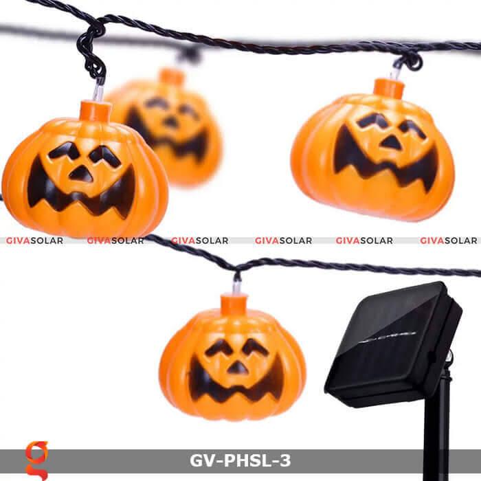 Dây đèn led bí ngô trang trí Halloween GV-PHSL-3 8