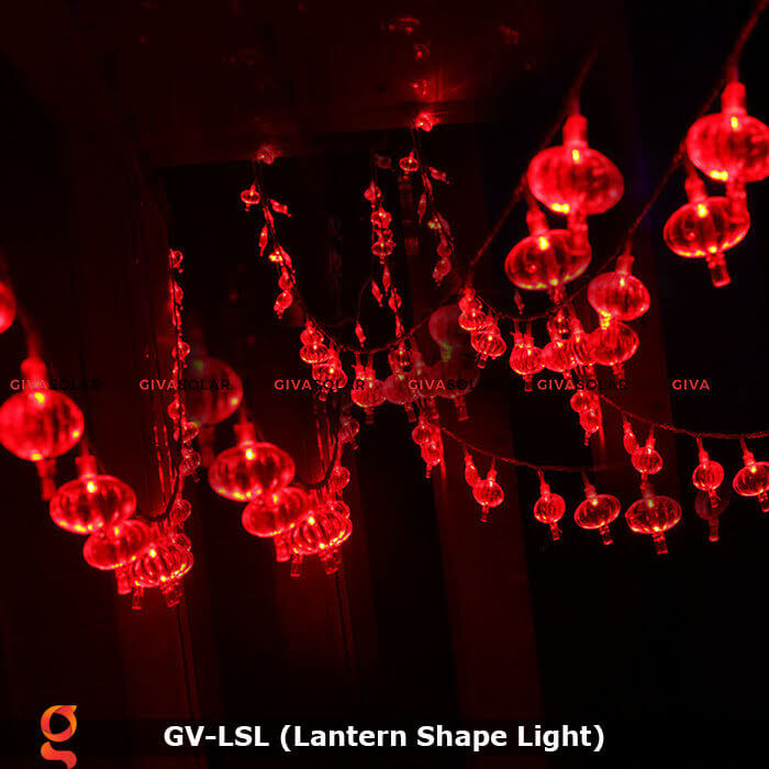 Dây đèn led hình lồng đèn độc đáo GV-LSL 2