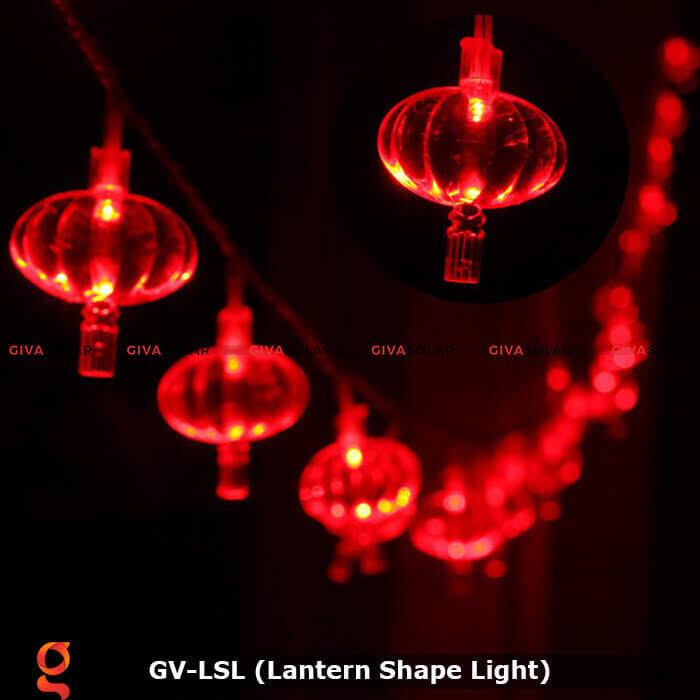 Dây đèn led hình lồng đèn độc đáo GV-LSL 4
