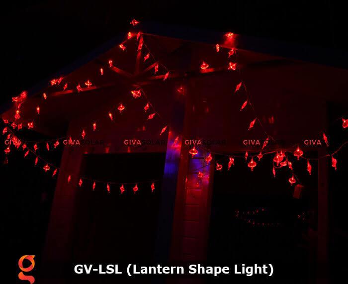 Dây đèn led hình lồng đèn độc đáo GV-LSL 6