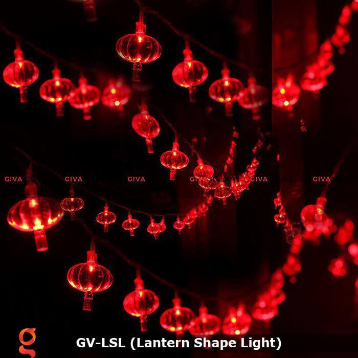 Dây đèn led hình lồng đèn độc đáo GV-LSL 8