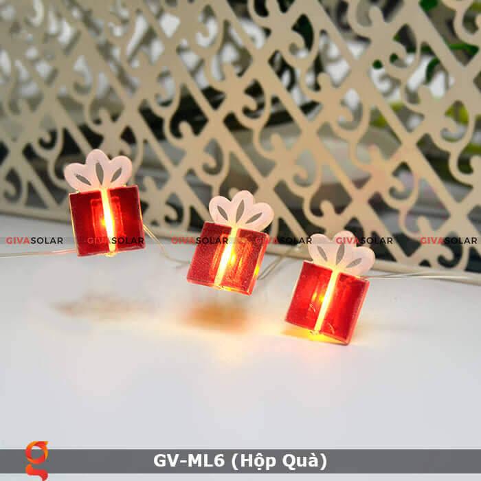 Dây đèn led hộp quà trang trí GV-ML6 1