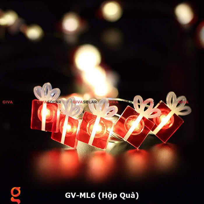 Dây đèn led hộp quà trang trí GV-ML6 10