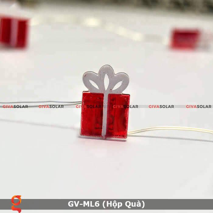Dây đèn led hộp quà trang trí GV-ML6 4