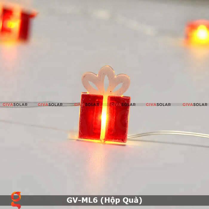 Dây đèn led hộp quà trang trí GV-ML6 5