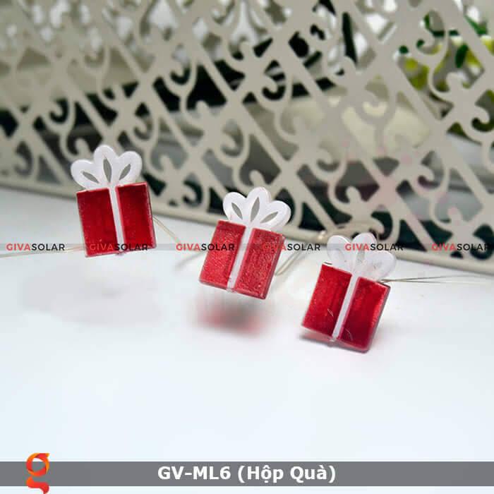 Dây đèn led hộp quà trang trí GV-ML6 6