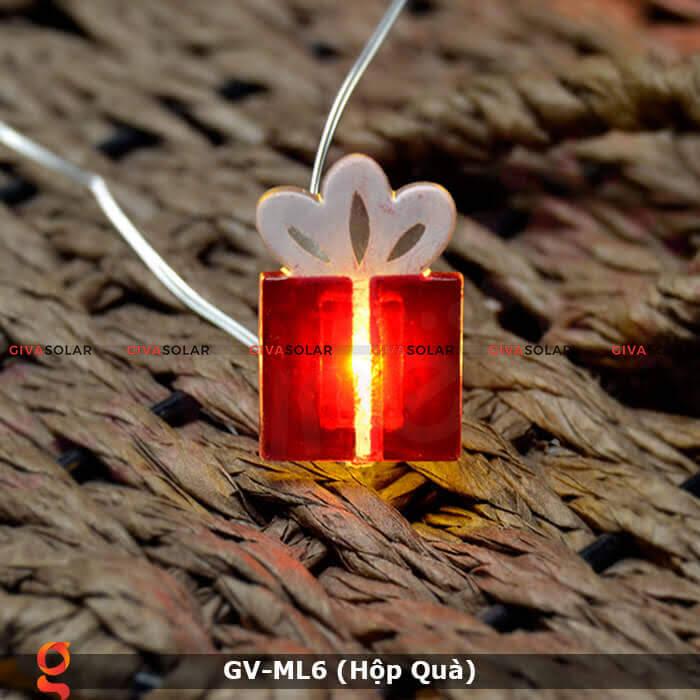 Dây đèn led hộp quà trang trí GV-ML6 8