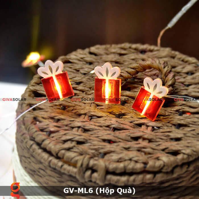 Dây đèn led hộp quà trang trí GV-ML6 9