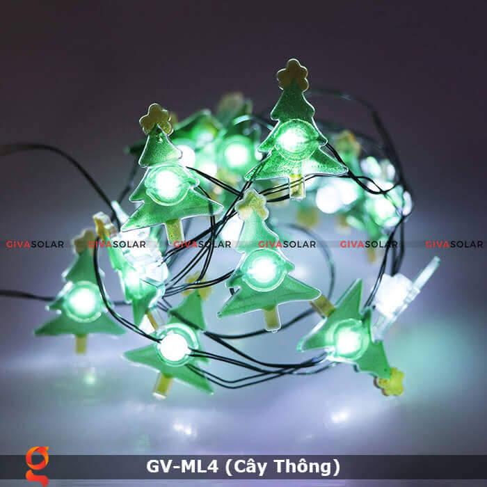 Dây đèn led trang trí hình cây thông noel GV-ML4 6