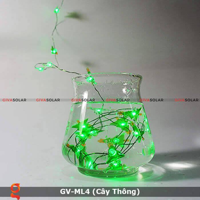 Dây đèn led trang trí hình cây thông noel GV-ML4 7