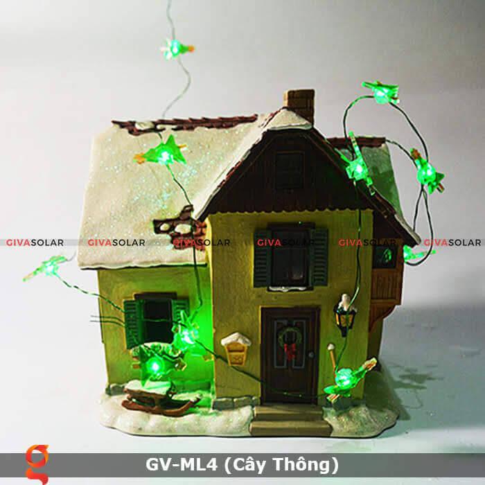 Dây đèn led trang trí hình cây thông noel GV-ML4 8