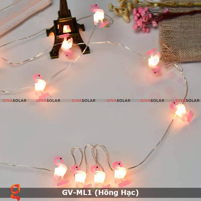 Dây đèn led trang trí mẫu hình Hồng Hạc GV-ML1 1