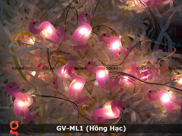 Dây đèn led trang trí mẫu hình Hồng Hạc GV-ML1 4