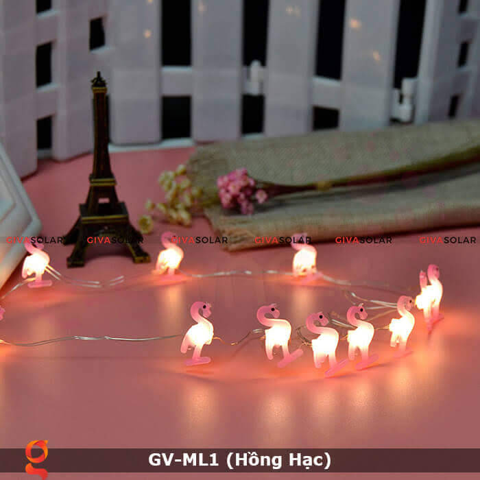 Dây đèn led trang trí mẫu hình Hồng Hạc GV-ML1 5