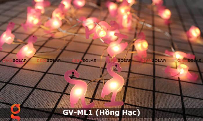 Dây đèn led trang trí mẫu hình Hồng Hạc GV-ML1 9