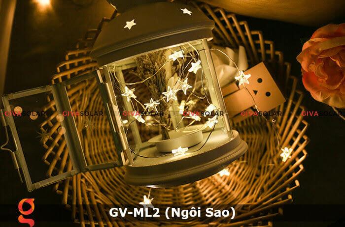 Dây đèn led trang trí mẫu hình ngôi sao GV-ML2 1