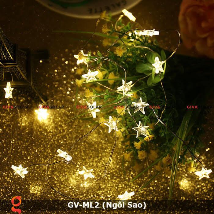 Dây đèn led trang trí mẫu hình ngôi sao GV-ML2 10
